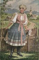Czechoslovak national costume, folklore s: Mukarovsky, Csehszlovák népviselet, folklór s: Mukarovsky
