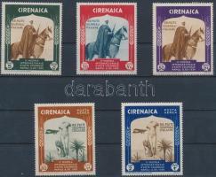 1934 Nemzetközi gyarmati kiállítás értékek Mi 115, 117-118, 124, 126