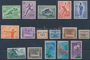 Italian Somalia 16 stamps, Olasz Szomália 16 db bélyeg
