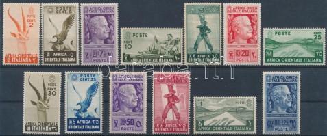 1938 Forgalmi értékek Mi 1-13
