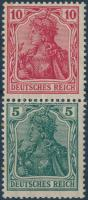 Germania stamp booklet pane, Germania füzetösszefüggés