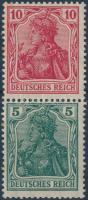 1920 Germania füzetösszefüggés Mi S 5 aa
