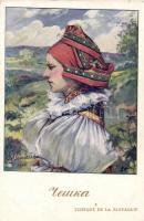 Czech folklore in Slovakia 'Visé Paris' No. 137 s: Nemecek, Szlovákia, cseh folklór 'Visé Paris' No. 137 s: Nemecek