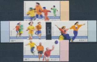 2001 Sport ívszéli sor Mi 2165-2168