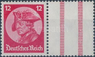 1933 Fridericus füzetösszefüggés pár Mi 480+Z