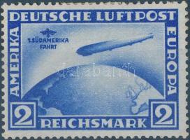 1930 Zeppelin 1. Dél-Amerikai útja Mi 438 Y