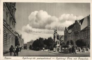 Sopron, Széchenyi tér, Posta palota