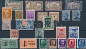 Olaszország, Olasz gyarmatok 25 db bélyeg