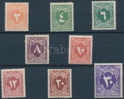 1958-1962 Portó Mi 3-4 + 8-13