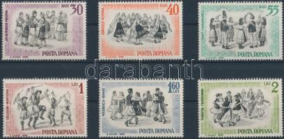 Folk Dance set, Néptánc sor