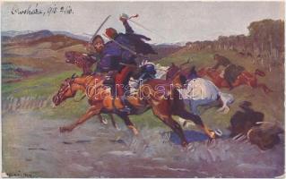 Cossack death in Maramures, s: Juszkó, Kozák halála Máramaroson, 'Magyar Hadsegélyező Hivatal' s: Juszkó