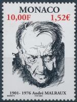 2001 André Malraux író-politikus Mi 2553