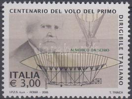 2005 100 éves az első kormányozható léghajó megtervezése Mi 3044