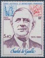1980 10 éve hunyt el Charles De Gaulle Mi 148