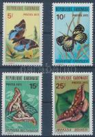 1971 Lepkék sor Mi 434-437