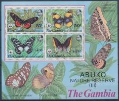 1980 WWF Abuko-természetvédelmi terület blokk Mi 5