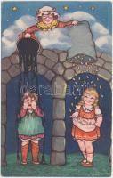 Holle Anyó, mese, Amag 0407 s: Margret Boriss, Mother Holle, fairytale, Amag 0407 s: Margret Boriss