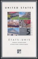 Tourism (I) stamp-booklet, Turizmus (I) bélyegfüzet