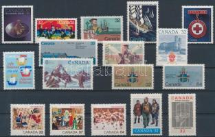 17 diff. stamps, 17 klf bélyeg