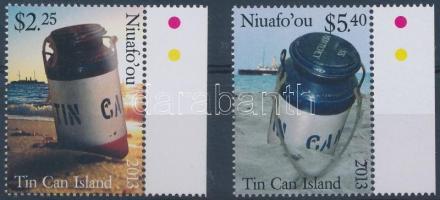 Tin Can Island margin set, 2 values Tin Can sziget ívszéli sor, 2 érték