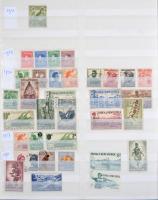Csendes óceáni angol gyarmatok, területek legnagyobbrészt postatiszta gyűjtemény rengeteg szép motívum kiadással, 24 lapos A/4 berakóban / Pacific Ocean British colonies and Commonwealth nice collection with a lot of thematic issues (Mi EUR 954.-)