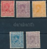 Definitive stamps, Forgalmi értékek