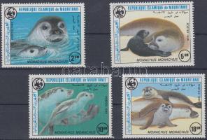 1986 WWF Fókák sor Mi 871-874