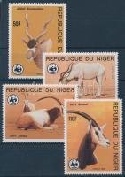 1985 WWF Antilopok sor Mi 941-944