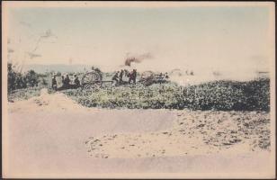 Russo-Japanese war, battle scene, Orosz-Japán háború