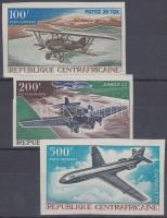 1967 Repülők légi értékek Mi 147-149