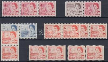 Stamp-booklet relations, Bélyegfüzet összefüggések