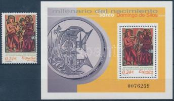 2001 Domingo de Silos Mi 3653 + blokk 99