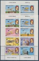 1979 A repülés története fogazott + vágott kisív Mi 1460-1467