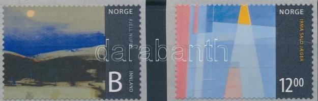 2009 Művészet: Festmények sor Mi 1671-1672