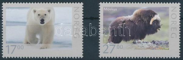 2011 Vadállatok sor Mi 1744-1745