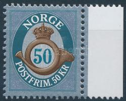 Definitive margin stamp, Forgalmi ívszéli