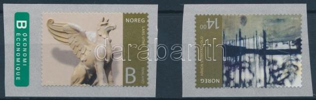 2012 Norvég művészet öntapadós sor Mi 1772-1773