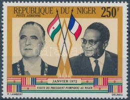 1972 Pompidou francia elnök látogatása Mi 315