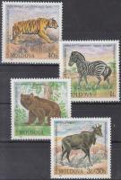 2001 Állatkert sor Mi 397-400