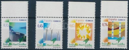 Renewable energy margin set, Megújuló energiák ívszéli sor