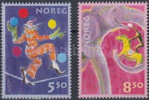 2002 Európa: Cirkusz sor Mi 1446-1447