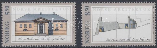 2001 Építészet sor Mi 1387-1388