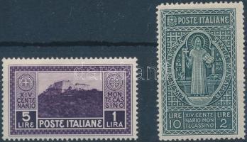 1929 Mi 323-324