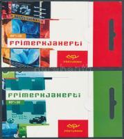 Europa CEPT Poster art 2 stampbooklets, Europa CEPT plakátművészet 2 bélyegfüzet