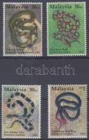 2002 Kígyók sor Mi 1082 A - 1085 A