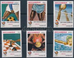 1987 Nyári olimpia 1988, Szöul sor Mi 1094-1099