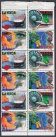 Canadian high-tech stamp-booklet sheet, Kanadai csúcs technológia bélyegfüzetlap