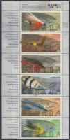 Salmon fishing stamp-booklet sheet, Lazac horgászat bélyegfüzetlap