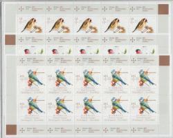2013 Ifjúság; Madarak kisív sor Mi 3023-3025