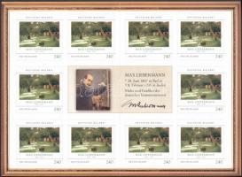 2013 Német festők (IX); Festmény bélyegfüzet Mi MH 92 (2879)